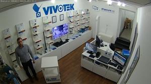 Záběr IP kamery VIVOTEK FD816B-HT