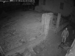 Záběr IP kamery VIVOTEK IB9371-HT
