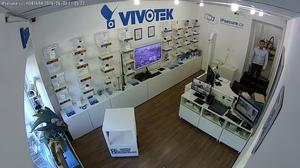 Záběr IP kamery VIVOTEK FD8169A