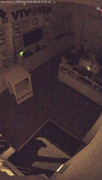 Záběr IP kamery VIVOTEK FD8167A