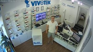 Záběr IP kamery VIVOTEK IP8166
