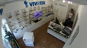 Záběr IP kamery VIVOTEK FD8166A