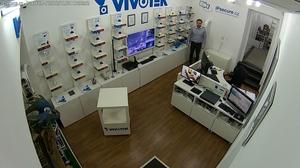 Záběr IP kamery VIVOTEK FD8166A-N