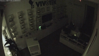 Záběr IP kamery VIVOTEK FD8177-H