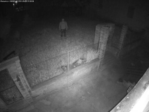 Záběr z testované kamery VIVOTEK FD8382-VF2