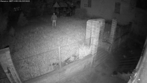 Záběr z testované kamery VIVOTEK IB8377-H