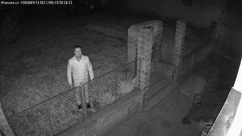 Záběr z testované kamery VIVOTEK FD8366-VF3
