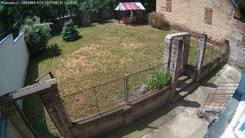 Záběr z testované kamery VIVOTEK FD836BA-HTV