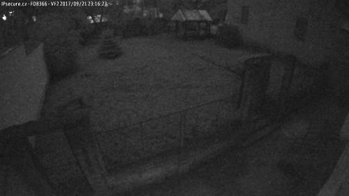Záběr z testované kamery VIVOTEK FD8366-VF2